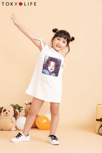 Áo T-shirt bé gái E4TSH410E