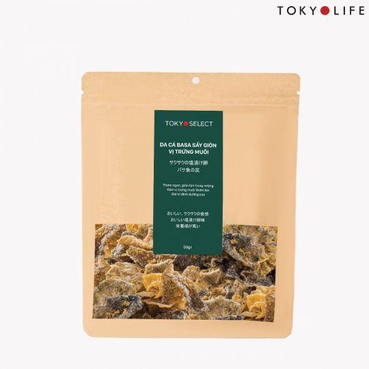 Da cá basa sấy giòn vị trứng muối TokyoSelect 50g