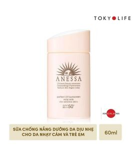 Sữa chống nắng Anessa Perfect Mild 60ml